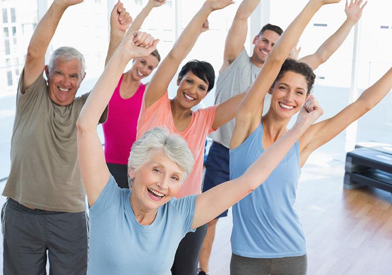 физические упражнения для пожилых людей
